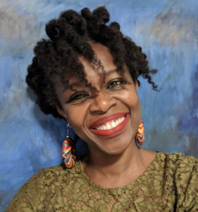 A photo of fiction writer Muthoni Kiarie.