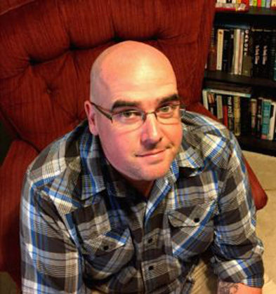 A photo of nonfiction writer Jeremy Griffin.