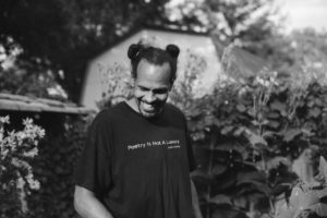 Photo of the writer Ross Gay