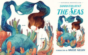 Cover art for the The Seas, which depicts an illustration of a crying mermaid.